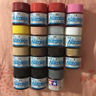 🚚 MRHOBBY水性顏料