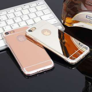 鏡面 iPhone 手機殻