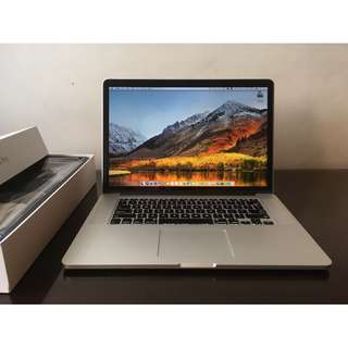 Apple MacBook Pro, Retina, 15-inch, Mid 2014 MGXA2ZP/A