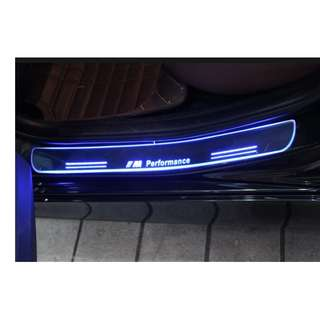 BMW F10 5 Series Animated LED Door Scuff Plates