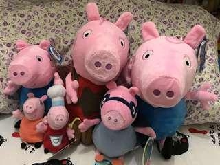Peppa pig ❤️公仔