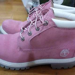 Timberland粉色女鞋