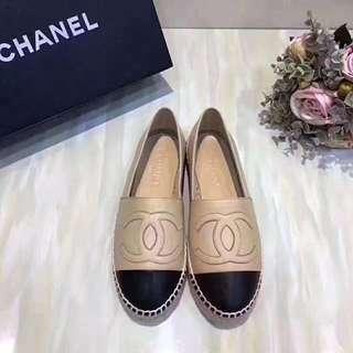 高級定制Chanel漁夫鞋,一年四季都可以著,發票齊曬