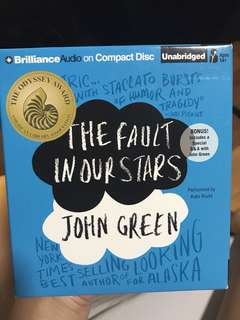 Fault In Our Stars Audiobook