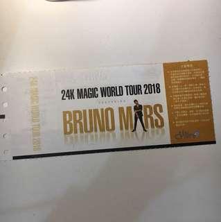 Bruno Mars 24k magic world tour 2018台北場