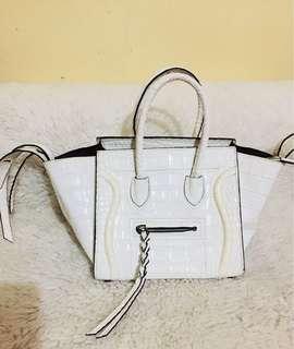 Celine Mini Phantom Croc Embossed Bag