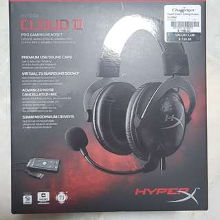 Brand New HyperX Cloud II Bought on 17/03/18 2 year warranty
