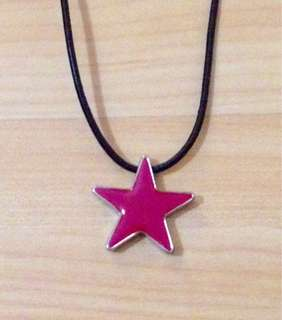 Hugo Boss Pink Star Necklace
