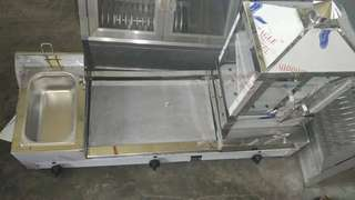 Griller w/ Deep Fryer & Steamer House