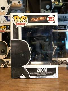 Funko POP The Flash no. 352- Zoom - BRAND NEW IN BOX