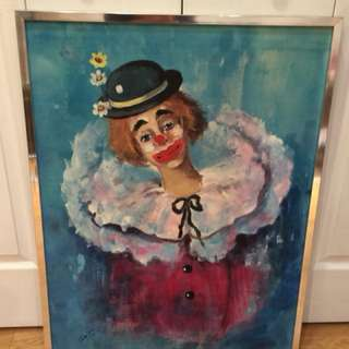 Original Clown Painting