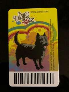 TimeZone Wizard of Oz Rare ToTo Card