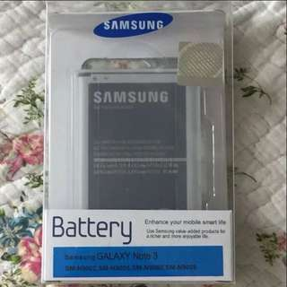 SAMSUNG GALAXY NOTE 3 ORIGINAL BATTERY 3200mAh (100% new unopened)