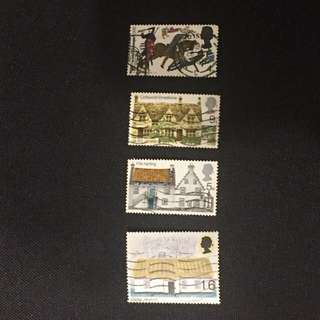 UK Britain stamps