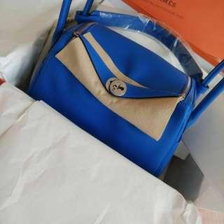 Hermes Lindy 26 stamp c, fullset, Bleu hyra