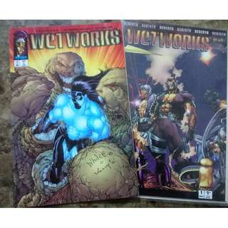 WETWORKS (1994 Series -Image Comics)  #1 and 13