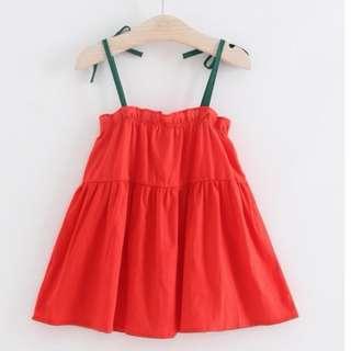Baby Girls Princess Party Pageant Ruffles Tutu Harness Dress