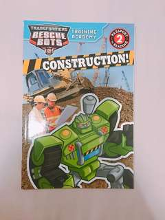 Transformers Rescue Bots: Training Academy: Construction! (Paperback) BRAND NEw