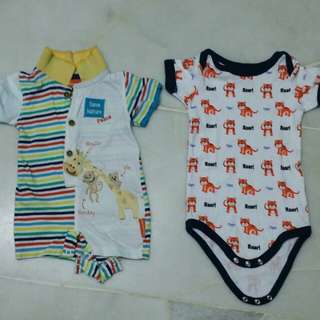 Romper 3-6m 100% cotton