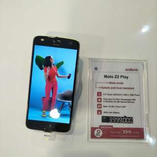 Promo Cicilan Tanpa Karti Kredit Moto Z2 Play