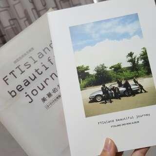 FTIsland美麗的旅程CD+DVD臺灣獨佔影音豪華A盤