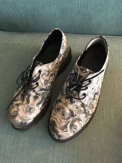Dr. Martens Floral Oxfords