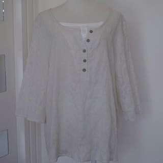 購自日本品牌K-cramp超舒服全棉上衣