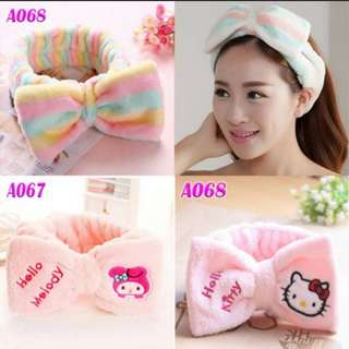 Rainbow Hello Kitty My Melody Headband