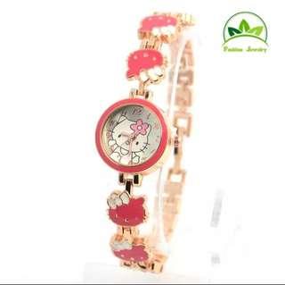 Jam Tangan Anak Hello Kitty