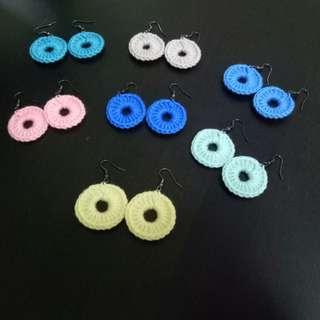 Handmade Earrings (Knitted)