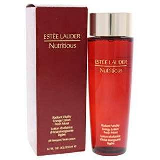 estee lauder nutritious radiant vitality energy lotion fresh moist