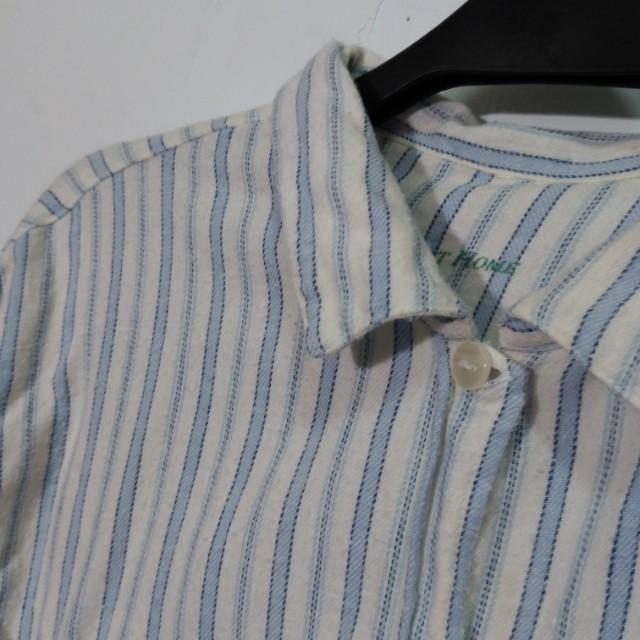 免費索取📣淺藍條紋熊熊睡衣