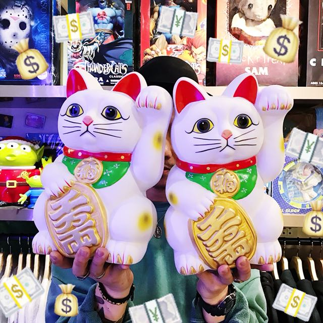 招財貓存錢筒