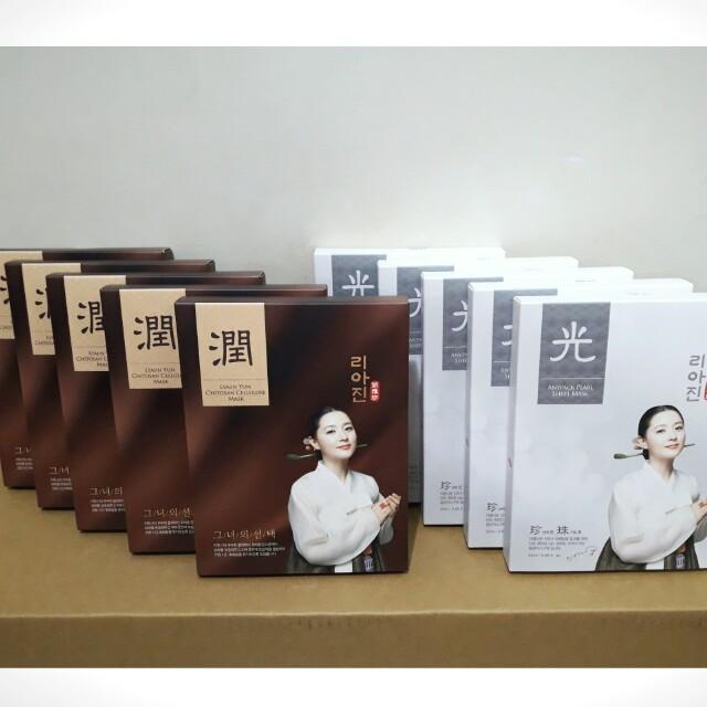 [韓國]麗雅珍 潤面膜/光面膜 韓國第一女神李英愛代言
