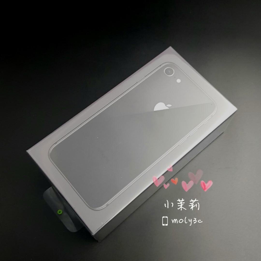 "全新未拆 iPhone 8 64G太空灰 Space Gray 4.7"" i8 64GB"