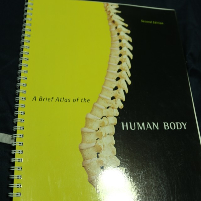 A Brief Atlas of the Human Body textbook