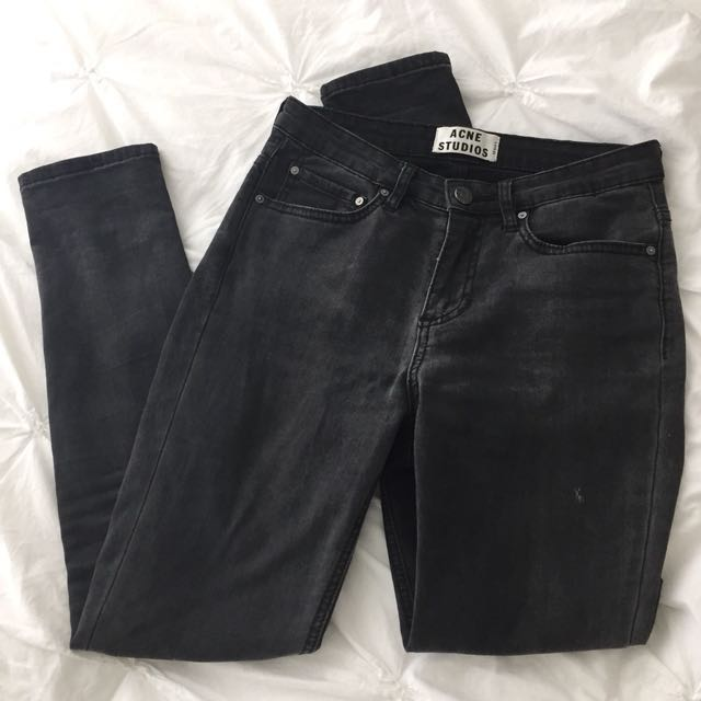 Acne Studios Skin 5 Jean (Washed Black)