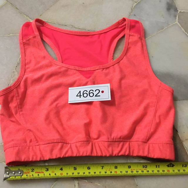 Active & co sport bra non padded size 14 no 4662