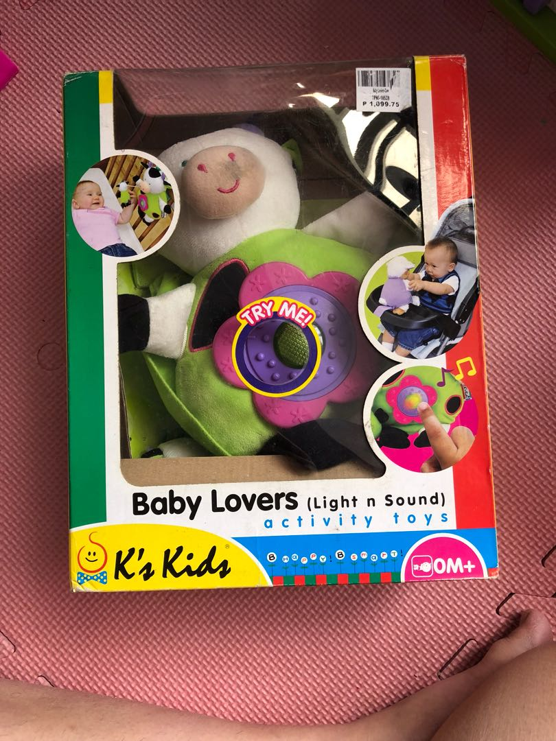 activity toy light and sound