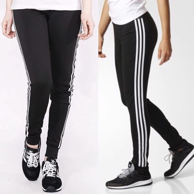 Adidas 彈性縮口褲