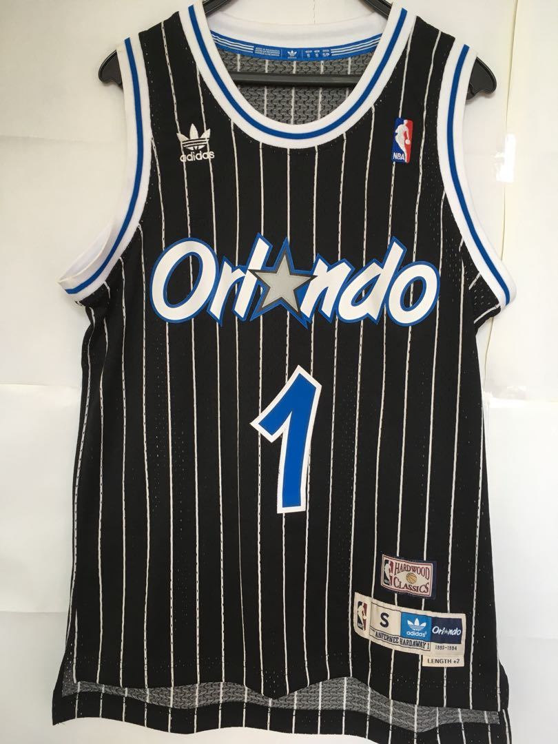 the latest 99c86 047bf Adidas hardwood classics Orlando Magic Penny Hardaway jersey