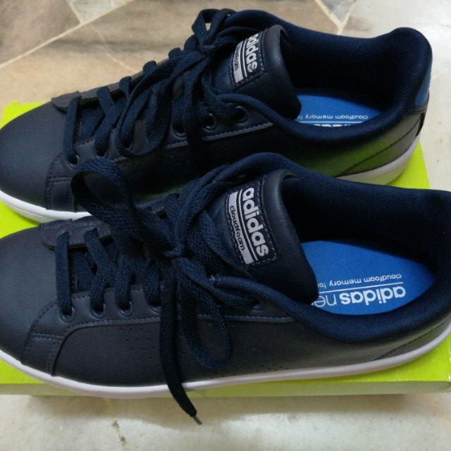 info for 0e900 967e6 Adidas Neo CloudFoam Memory Footbed., Men s Fashion, Footwear on Carousell
