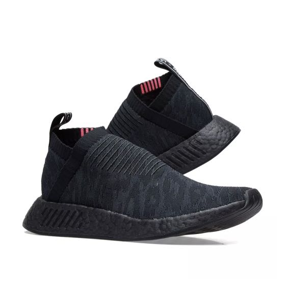 296954e17 Adidas NMD CS2 Primeknit Triple Black