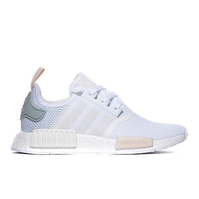 9d881008f4cb Adidas Originals Womens NMD R1 Trainer (White)