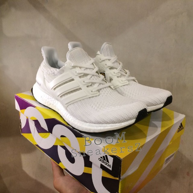 wholesale dealer 7a324 bf63b Adidas ultraboost 4.0 BB6168 white size 43 uk9 many size 41 42 43