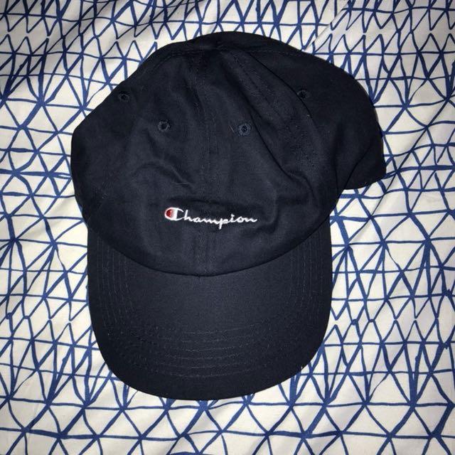 Authentic champion cap