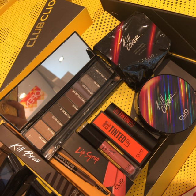 Authentic Clio Makeup Set