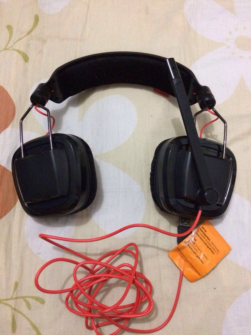 AUTHENTIC Plantronics USB gaming headset