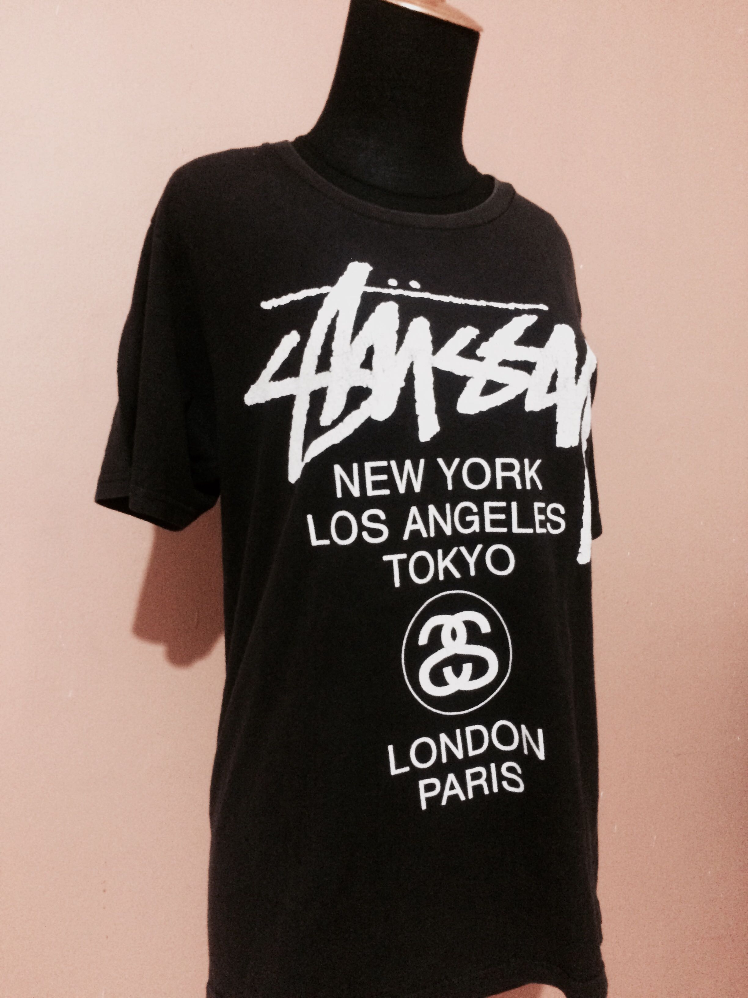 Authentic STUSSY Black Shirt
