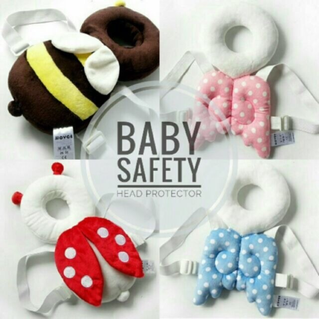 Baby safety head protector